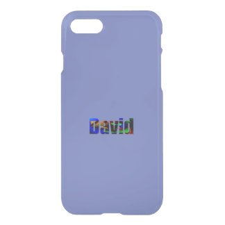 David Purple iPhone Deflector cover