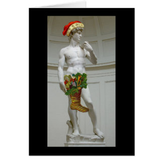 David Santa Christmas Card