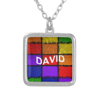 DAVID SILVER PLATED NECKLACE