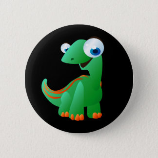 David The Dinosaur 6 Cm Round Badge
