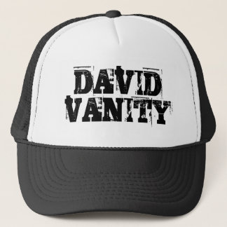 DAVID VANITY Trucker Cap