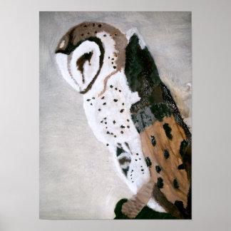 David's Owl Print