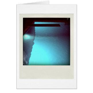 David's Pool 09d07 3d Computer Art card