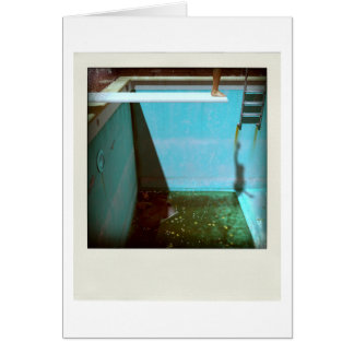 David's Pool 09f21 3d Computer Art card