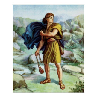 David's Victory Poster
