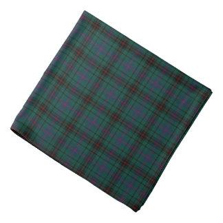 Davidson Clan Tartan Dark Green Plaid Bandana
