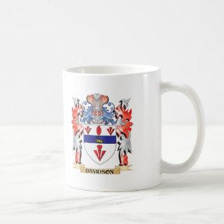 Davidson Coat of Arms - Family Crest Coffee Mug