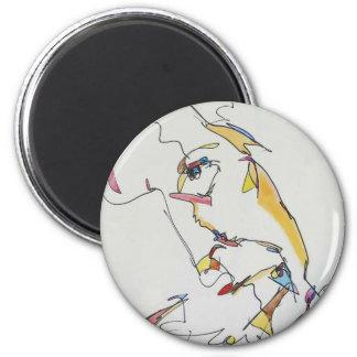 Davie 6 Cm Round Magnet