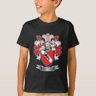 Davies Family Crest Coat of Arms T-Shirt