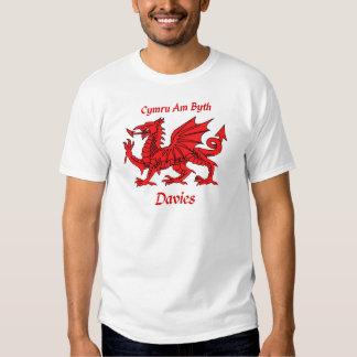 Davies Welsh Dragon Shirt