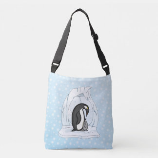 Davin and Annie the Penguins All-Over-Print Bag