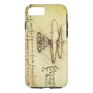 Davinci flying machine iPhone 7 case