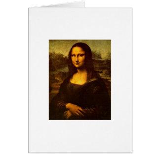 DaVinci's Mona Lisa Greeting Card