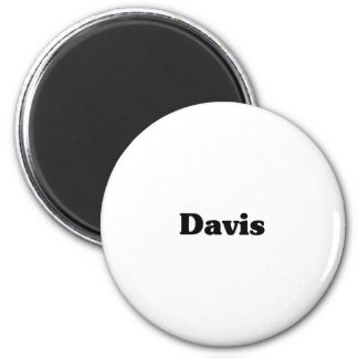 Davis Classic t shirts Fridge Magnet