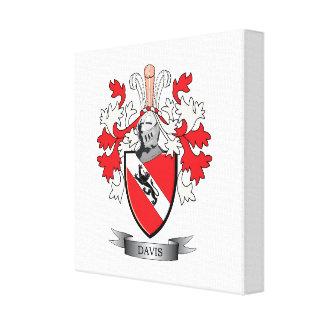 Davis Coat of Arms Canvas Print