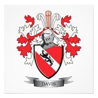 Davis Coat of Arms Photo Art