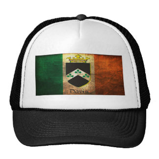 Davis Crest Irish Flag Cap