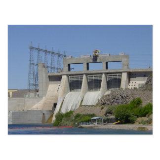 Davis Dam Arizona Postcard