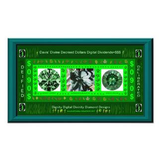 DAVIS' DIGITAL DOLLARS-$090 PHOTO PRINT