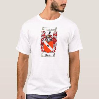 DAVIS FAMILY CREST -  DAVIS COAT OF ARMS T-Shirt