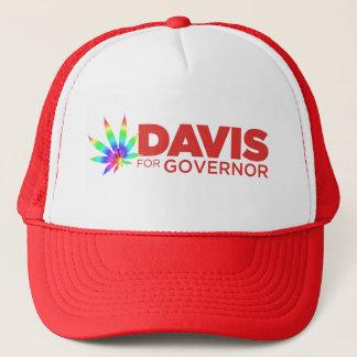Davis gay  pride Hat