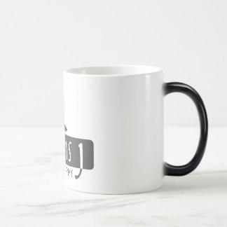 Davis J Logo Morphing Mug