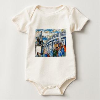davis monument dame street dublin baby bodysuit