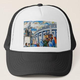 davis monument dame street dublin trucker hat