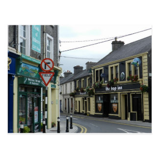 Davis street, Athenry, Ireland Postcard