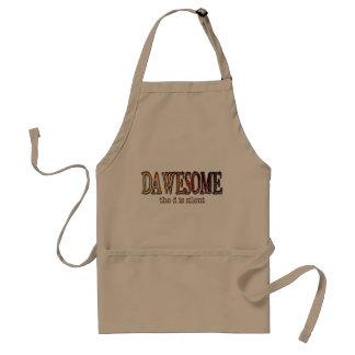 Dawesome apron