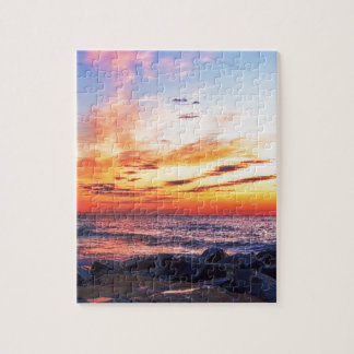 Dawn at 120th Street in Ocean City Maryland Jigsaw Puzzle