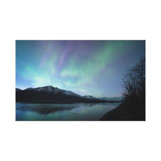 Dawn Aurora Canvas Print