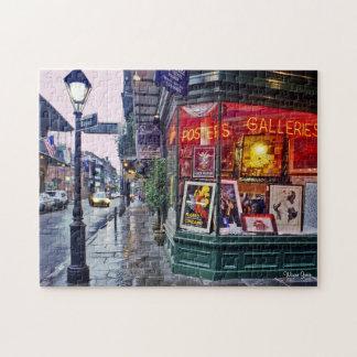Dawn - French Quarter - Gallery Corner Jigsaw Puzzle