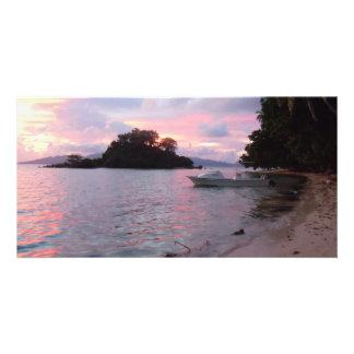 Dawn Island View>Photo Card Customised Photo Card