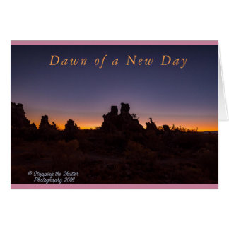 Dawn of a New Day Card