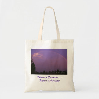 Dawn Rainbow Tote Budget Tote Bag
