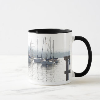 Dawn Sailboats Mug