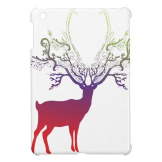 Dawn Silhouette Deer iPad Mini Covers