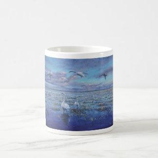 Dawn Swans Coffee Mug