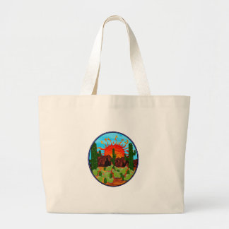 DAWNING DAY LARGE TOTE BAG