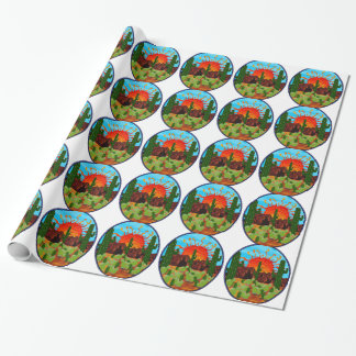 DAWNING DAY WRAPPING PAPER