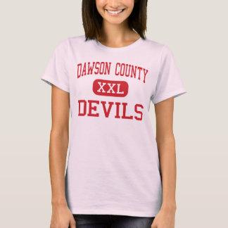 Dawson County - Devils - High - Glendive Montana T-Shirt