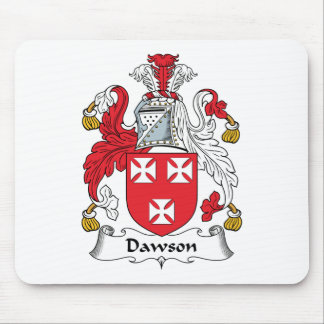 Dawson Family Crest Mouse Pad