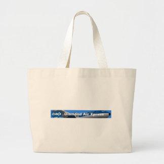 "DAX - Diamond Air Xpress ""Flight Bag"" Jumbo Tote Bag"
