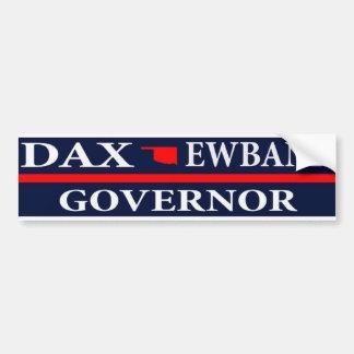 Dax Ewbank for Governor of Oklahoma Bumper Sticker