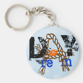 Day & a Dream Basic Round Button Key Ring