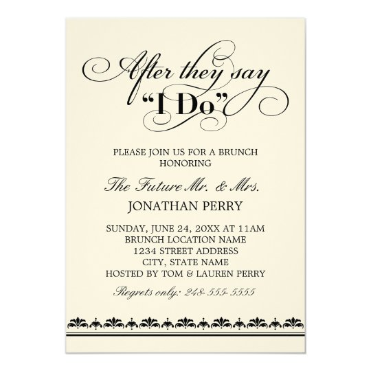 day after wedding brunch invitation wedding vows zazzle com au