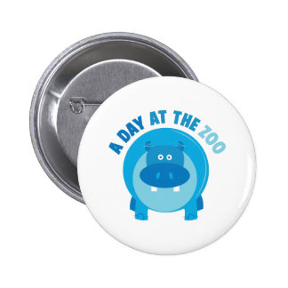 Day at the Zoo 6 Cm Round Badge
