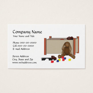 Day Care Child Care Babysitter Business Card