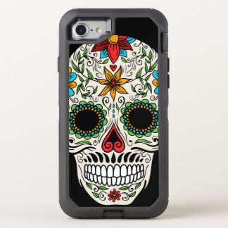 Day Dead Sugar Skull OtterBox Defender iPhone 7 Case